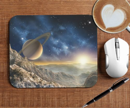 Space Universe Galaxy Mouse Mat PC Computer Pad N7